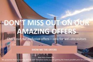 Exclusive website offer